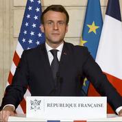 Emmanuel Macron à Jarnac pour le 25e anniversaire de la mort de François Mitterrand