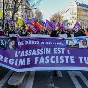 Manifestations en France huit ans après l'assassinat de trois militantes kurdes