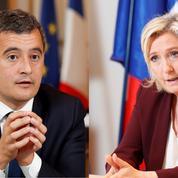 Loi «séparatisme» : un débat entre Gérald Darmanin et Marine Le Pen le 11 février sur France 2