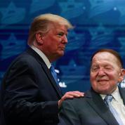 Avec la mort de Sheldon Adelson, Donald Trump perd un précieux soutien