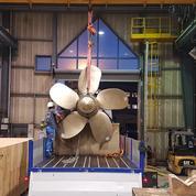 Naval Group propulse un navire militaire avec une hélice fabriquée par impression 3D, une première mondiale
