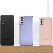 Samsung dévoile ses nouveaux smartphones, les Galaxy S21