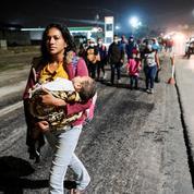 Honduras: une nouvelle caravane de migrants à la poursuite du «rêve américain»
