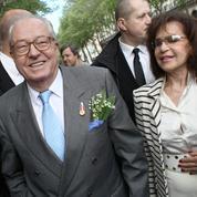 Le mariage secret de Jean-Marie Le Pen choque le clan familial
