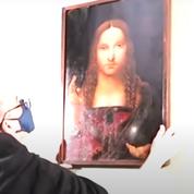 Un Salvator Mundi volé de l'école de Léonard de Vinci a été retrouvé chez un Napolitain