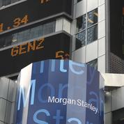 Morgan Stanley dopée par ses banquiers d'affaires et courtiers