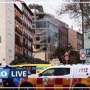 Madrid : le bilan de l'explosion d'un immeuble passe à quatre morts