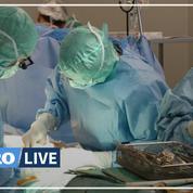 Un patient a été greffé des bras et des épaules à Lyon