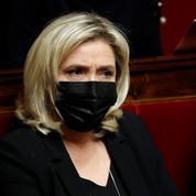 Élection présidentielle : Marine Le Pen devancerait Emmanuel Macron d'une courte tête au premier tour