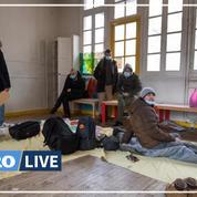Migrants : les occupants de l'ancienne école hébergés dans des gymnases