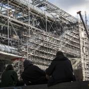 En images : dans les coulisses du centre Pompidou, toujours privé de visiteurs