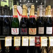 En 2020, la chute des ventes mondiales de champagne a été moins forte que prévu