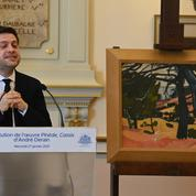 Marseille restitue une toile d'André Derain spoliée et appelle les maires à un travail d'inventaire