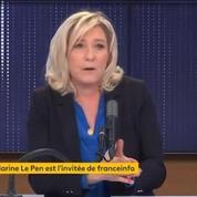 Marine Le Pen considère qu'elle partage «la même ligne» qu'Arnaud Montebourg sur certains sujets