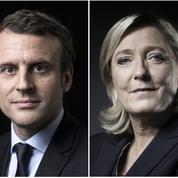 Présidentielle 2022 : Marine Le Pen et Emmanuel Macron au coude à coude au second tour, selon un sondage