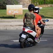 La circulation des deux-roues entre les files de voitures interdite à partir du 1er février