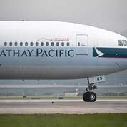 Hongkong: l'action Cathay Pacific plonge de 8% en raison de difficultés financières