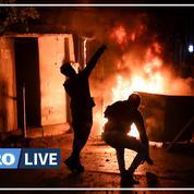 Liban : plus de 220 blessés dans de nouveaux heurts entre manifestants et policiers