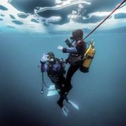 Que faire en montagne cet hiver ? La plongée sous glace, immersion renversante