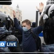 Russie : nouvelles manifestations pro-Navalny, plus de 4800 interpellations