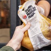 Burger King offre un kilo de pommes de terre à ses clients pour soutenir les producteurs