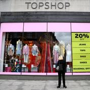 Asos rachète la marque Topshop et d'autres actifs d'Arcadia, 2500 emplois menacés
