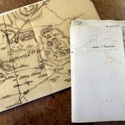Napoléon: le manuscrit sur Austerlitz toujours en vente