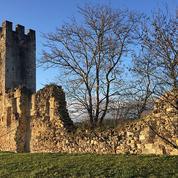La tour médiévale de Sault-de-Navailles détruite par la tempête Justine