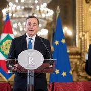 Italie : Draghi appelle à «l'unité» pour affronter «un moment difficile»