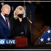 États-Unis : Biden rend un dernier hommage solennel au policier tué au Capitole