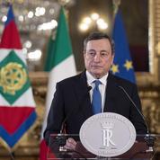 Mario Draghi, l'inventeur du «quoi qu'il en coûte», au chevet de l'Italie en crise