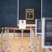 La Joconde quitte son cadre pour protester contre la fermeture des musées