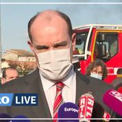 Inondations : en déplacement à Marmande, Castex veut que l'état de catastrophe naturelle soit déclaré rapidement