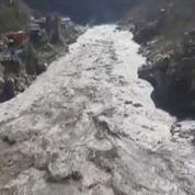 Inde : plusieurs morts et disparus après l'effondrement d'un morceau de glacier de l'Himalaya