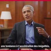 Barack Obama : «On ne doit pas considérer la démocratie comme acquise»