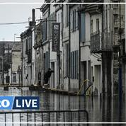 Inondations : l'état de catastrophe naturelle décrété «d'ici vendredi» assure Darmanin