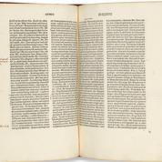 La toute première édition imprimée de Platon mise aux enchères à New York