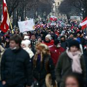 Le ras-le-bol des restrictions s'exprime encore dans la rue en Autriche