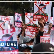 Birmanie : des milliers de Birmans dans les rues malgré le déploiement de l'armée