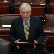 États-Unis : Trump appelle les républicains à se retourner contre leur chef au Sénat
