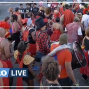 Covid-19 : aux Antilles, ni l'épidémie, ni les gendarmes n'arrêtent les carnavaliers