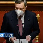 Draghi appelle à reconstruire l'Italie au sein d'une Europe «plus intégrée»