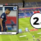 Les notes de PSG-Monaco: Mbappé a tout raté, infatigable Aguilar