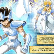 Les Chevaliers du Zodiaque délaissent le manga pour la BD avec une histoire made in France
