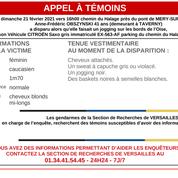 Val-d'Oise : une femme disparaît pendant son footing, une enquête ouverte