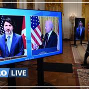 Biden et Trudeau affichent leur «extraordinaire amitié» pour clore l'ère Trump