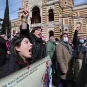 Géorgie : des milliers de manifestants après l'arrestation d'un chef de l'opposition