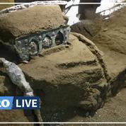 Pompéi : découverte exceptionnelle d'un riche char d'apparat romain