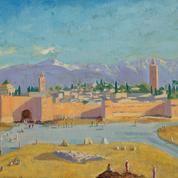 Quand Winston Churchill peignait à la lumière de Marrakech