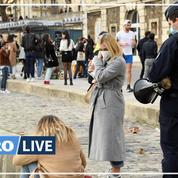 Covid-19 : à Paris, les quais de Seine bondés évacués par la police